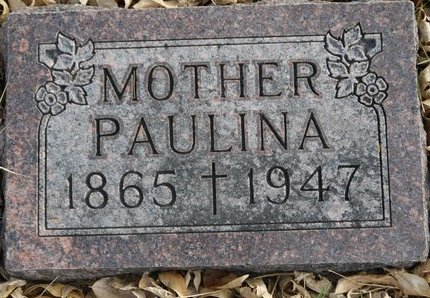 SCHAUNAMAN, PAULINA - Roberts County, South Dakota | PAULINA SCHAUNAMAN - South Dakota Gravestone Photos