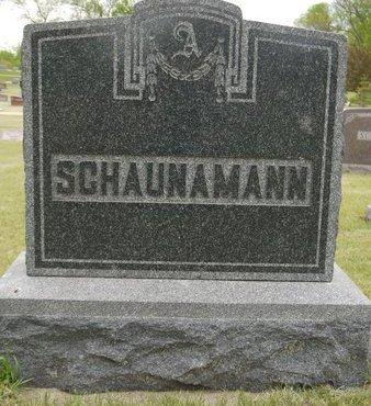 SCHAUNAMANN, FAMILY MARKER - Roberts County, South Dakota | FAMILY MARKER SCHAUNAMANN - South Dakota Gravestone Photos