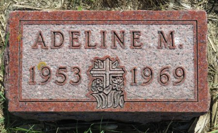 SCHILTZ, ADELINE M. - Roberts County, South Dakota | ADELINE M. SCHILTZ - South Dakota Gravestone Photos