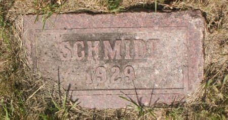 SCHMIDT, (NONE) - Roberts County, South Dakota   (NONE) SCHMIDT - South Dakota Gravestone Photos