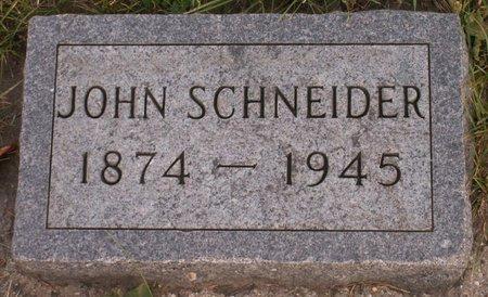SCHNEIDER, JOHN - Roberts County, South Dakota | JOHN SCHNEIDER - South Dakota Gravestone Photos