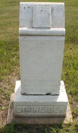 SCHNEIDER, LAURA E - Roberts County, South Dakota | LAURA E SCHNEIDER - South Dakota Gravestone Photos
