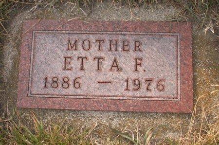 SMITH, ETTA F. - Roberts County, South Dakota   ETTA F. SMITH - South Dakota Gravestone Photos