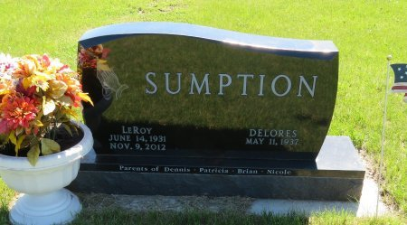 SUMPTION, DELORES - Roberts County, South Dakota | DELORES SUMPTION - South Dakota Gravestone Photos