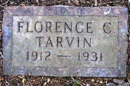 TARVIN, FLORENCE C. - Roberts County, South Dakota   FLORENCE C. TARVIN - South Dakota Gravestone Photos