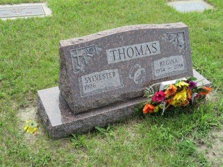THOMAS, SYLVESTER - Roberts County, South Dakota | SYLVESTER THOMAS - South Dakota Gravestone Photos