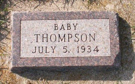 THOMPSON, BABY - Roberts County, South Dakota | BABY THOMPSON - South Dakota Gravestone Photos