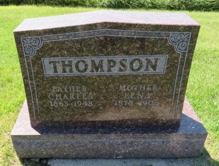 THOMPSON, LENA - Roberts County, South Dakota | LENA THOMPSON - South Dakota Gravestone Photos