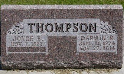 THOMPSON, DARWIN R. - Roberts County, South Dakota   DARWIN R. THOMPSON - South Dakota Gravestone Photos