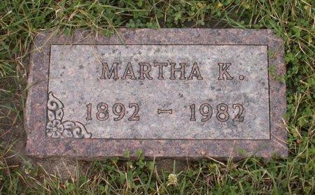 THOMPSON, MARTHA K. - Roberts County, South Dakota   MARTHA K. THOMPSON - South Dakota Gravestone Photos