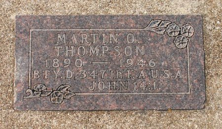 THOMPSON, MARTIN O. - Roberts County, South Dakota   MARTIN O. THOMPSON - South Dakota Gravestone Photos