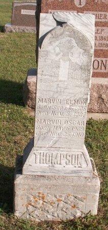 THOMPSON, MARVIN OSCAR - Roberts County, South Dakota | MARVIN OSCAR THOMPSON - South Dakota Gravestone Photos