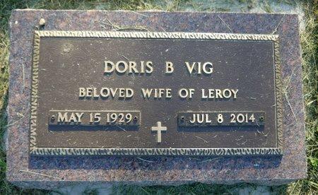 VIG, DORIS B. - Roberts County, South Dakota | DORIS B. VIG - South Dakota Gravestone Photos
