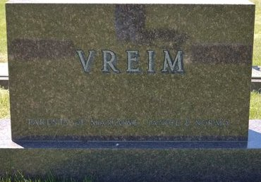 VREIM, *FAMILY MARKER - Roberts County, South Dakota | *FAMILY MARKER VREIM - South Dakota Gravestone Photos