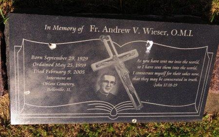 WIESER, ANDREW V. - Roberts County, South Dakota | ANDREW V. WIESER - South Dakota Gravestone Photos