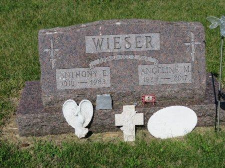 WIESER, ANTHONY E. - Roberts County, South Dakota   ANTHONY E. WIESER - South Dakota Gravestone Photos