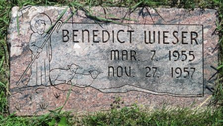 WIESER, BENEDICT - Roberts County, South Dakota | BENEDICT WIESER - South Dakota Gravestone Photos