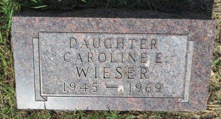 WIESER, CAROLINE E. - Roberts County, South Dakota   CAROLINE E. WIESER - South Dakota Gravestone Photos