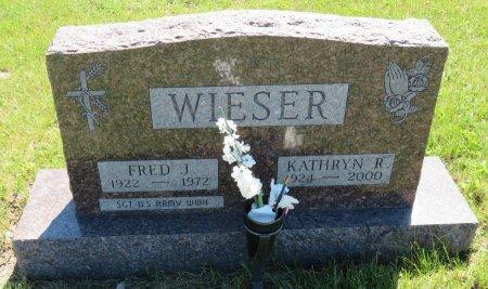 WIESER, FRED J. - Roberts County, South Dakota | FRED J. WIESER - South Dakota Gravestone Photos