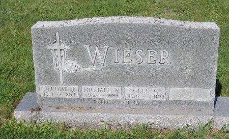 WIESER, MICHAEL W. - Roberts County, South Dakota   MICHAEL W. WIESER - South Dakota Gravestone Photos