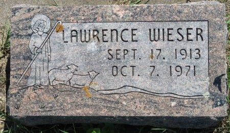 WIESER, LAWRENCE - Roberts County, South Dakota   LAWRENCE WIESER - South Dakota Gravestone Photos