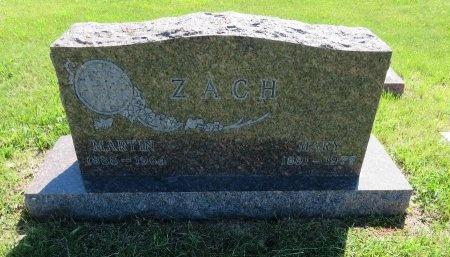ZACH, MARTIN - Roberts County, South Dakota | MARTIN ZACH - South Dakota Gravestone Photos