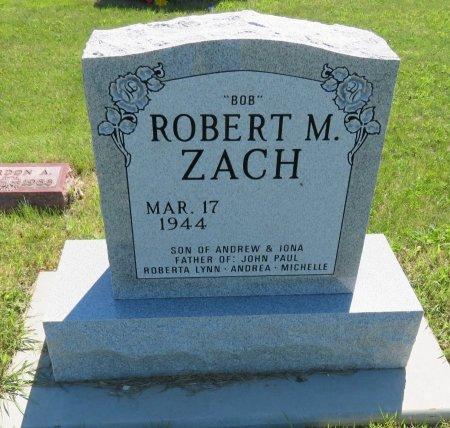 ZACH, ROBERT M. - Roberts County, South Dakota | ROBERT M. ZACH - South Dakota Gravestone Photos
