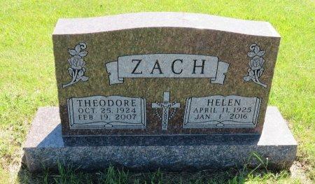 ZACH, HELEN - Roberts County, South Dakota   HELEN ZACH - South Dakota Gravestone Photos