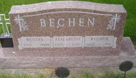 BECHEN, ELIZABETH - Sanborn County, South Dakota | ELIZABETH BECHEN - South Dakota Gravestone Photos