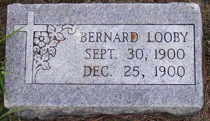 LOOBY, BERNARD - Sanborn County, South Dakota | BERNARD LOOBY - South Dakota Gravestone Photos