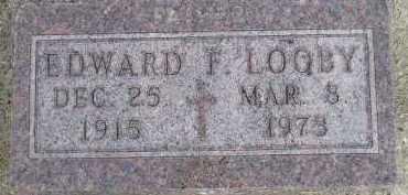 LOOBY, EDWARD F - Sanborn County, South Dakota | EDWARD F LOOBY - South Dakota Gravestone Photos