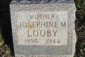 LOOBY, JOSEPHINE M - Sanborn County, South Dakota   JOSEPHINE M LOOBY - South Dakota Gravestone Photos