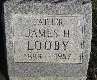 LOOBY, JAMES H - Sanborn County, South Dakota | JAMES H LOOBY - South Dakota Gravestone Photos