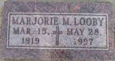 LOOBY, MARJORIE M - Sanborn County, South Dakota | MARJORIE M LOOBY - South Dakota Gravestone Photos