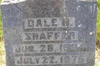 SHAFFER, DALE - Sanborn County, South Dakota   DALE SHAFFER - South Dakota Gravestone Photos