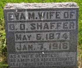 SHAFFER, EVA - Sanborn County, South Dakota | EVA SHAFFER - South Dakota Gravestone Photos