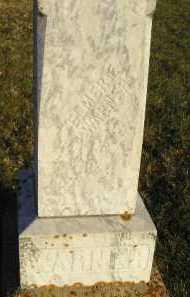 WARNER, ELMER E - Sanborn County, South Dakota   ELMER E WARNER - South Dakota Gravestone Photos