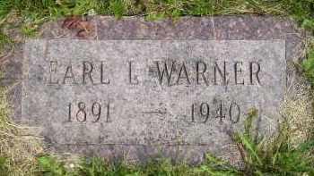 WARNER, EARL L - Sanborn County, South Dakota | EARL L WARNER - South Dakota Gravestone Photos