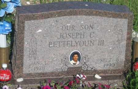BETTELYOUN, JOSEPH  C. - Oglala Lakota County, South Dakota | JOSEPH  C. BETTELYOUN - South Dakota Gravestone Photos