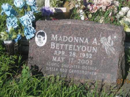 BETTELYOUN, MADONNA  A. - Oglala Lakota County, South Dakota | MADONNA  A. BETTELYOUN - South Dakota Gravestone Photos