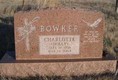 BOWKER, CHARLOTTE (DOLLY) - Oglala Lakota County, South Dakota | CHARLOTTE (DOLLY) BOWKER - South Dakota Gravestone Photos