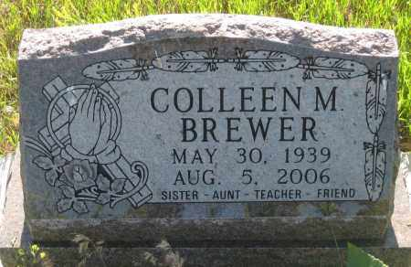 BREWER, COLLEEN  M. - Oglala Lakota County, South Dakota   COLLEEN  M. BREWER - South Dakota Gravestone Photos