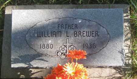BREWER, WILLIAM  L. - Oglala Lakota County, South Dakota | WILLIAM  L. BREWER - South Dakota Gravestone Photos