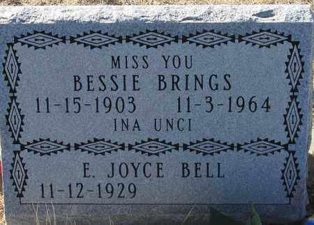 BRINGS, BESSIE - Oglala Lakota County, South Dakota | BESSIE BRINGS - South Dakota Gravestone Photos