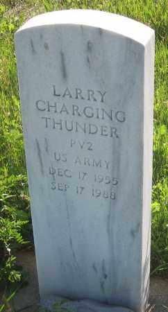CHARGING THUNDER, LARRY - Oglala Lakota County, South Dakota   LARRY CHARGING THUNDER - South Dakota Gravestone Photos