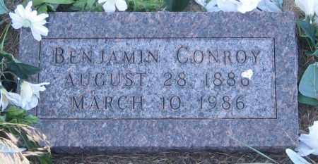 CONROY, BENJAMIN - Oglala Lakota County, South Dakota   BENJAMIN CONROY - South Dakota Gravestone Photos
