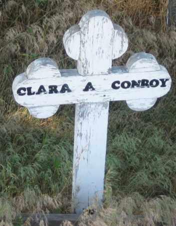 CONROY, CLARA  A. - Oglala Lakota County, South Dakota | CLARA  A. CONROY - South Dakota Gravestone Photos