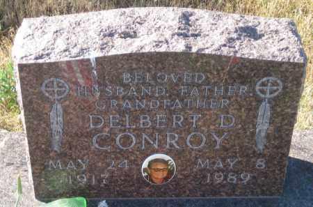 CONROY, DELBERT D. - Oglala Lakota County, South Dakota   DELBERT D. CONROY - South Dakota Gravestone Photos