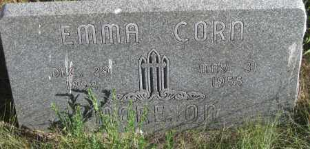 CORN, EMMA - Oglala Lakota County, South Dakota | EMMA CORN - South Dakota Gravestone Photos