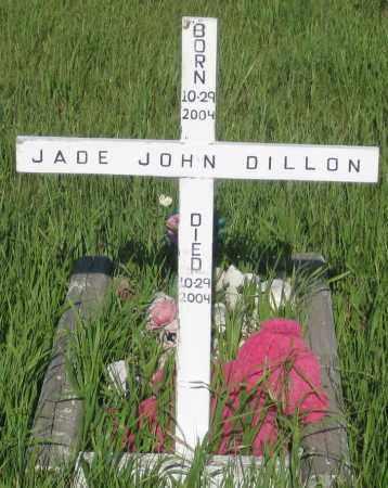 DILLON, JADE JOHN - Oglala Lakota County, South Dakota   JADE JOHN DILLON - South Dakota Gravestone Photos